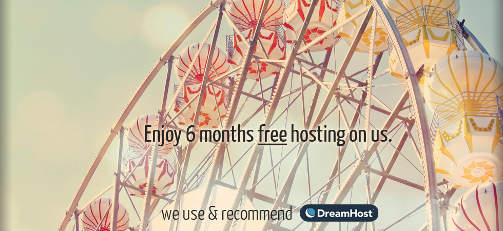 6 months free hosting promo A